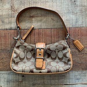Tan Coach Leatherware Handbag - Authentic